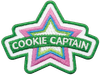 Cookie Captain Patch