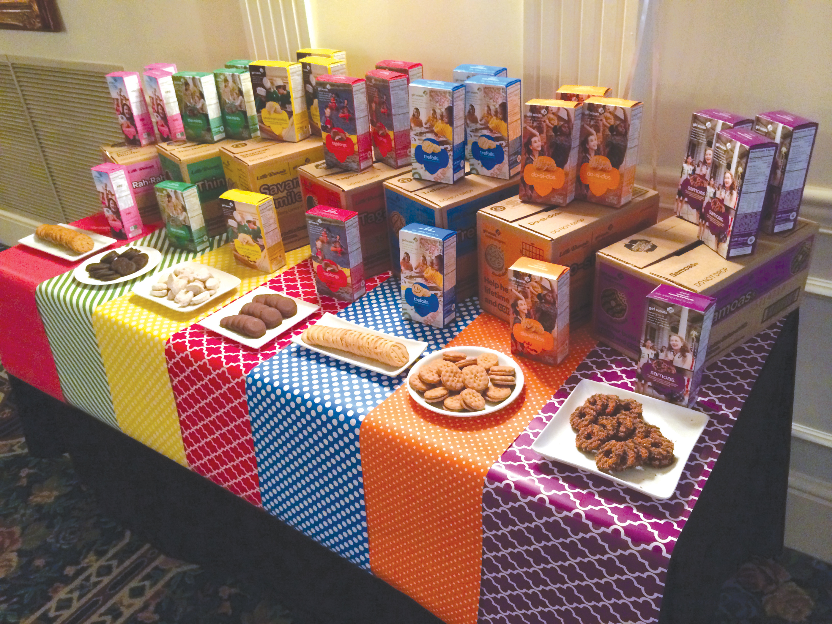 1000 images about girl scouts cookie booth on pinterest
