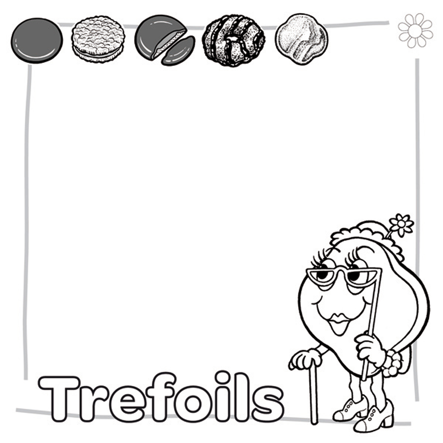 Coloring Pages Little Brownie Bakers Coloring Pages