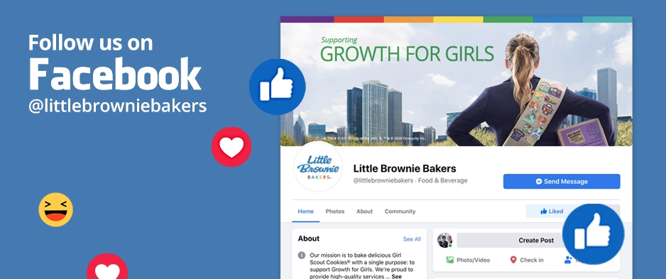 Little Brownie Bakers® is now on Facebook