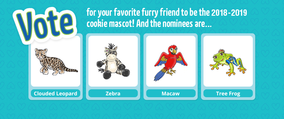 Vote for the next cookie mascot!