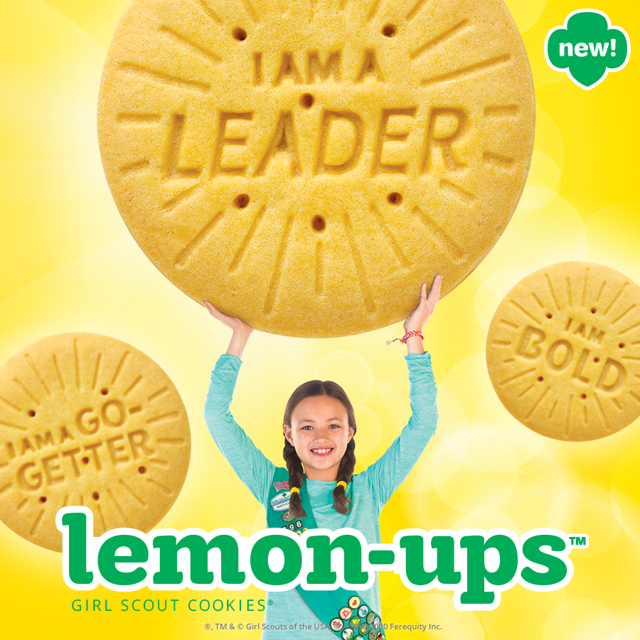 New! Lemon-Ups Girl Scout Cookie