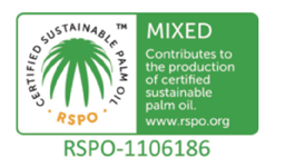 RSPO Logo for sustainable palm oil