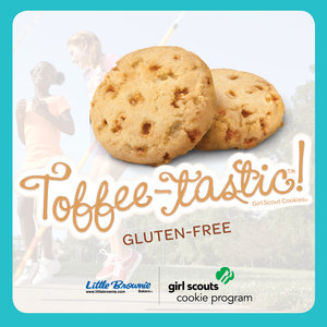 toffee tastic girl scout cookies available in all