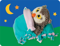 Night Owls Sleeping Bag