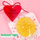 New! Lemon-Ups™ Cookies Holiday Valentine's Day